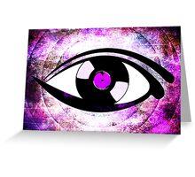 Eye Heart Vinyl (I Love Vinyls) Modern Conceptual Art Vinyl Records Music Greeting Card