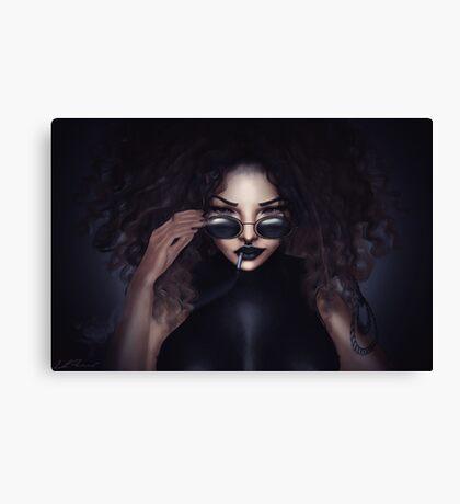 Killer Eyes Canvas Print