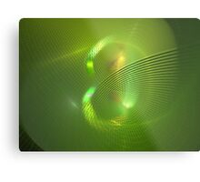 Green Eight Metal Print