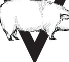 Verger Meat Packing  Sticker