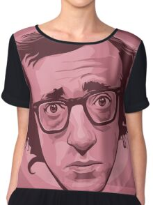 "Heywood ""Woody"" Allen Chiffon Top"