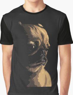 Sad Pug Graphic T-Shirt