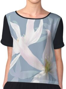 Mother's Clematis 05 Chiffon Top