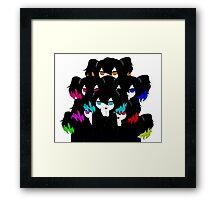 Combo chimgirls Framed Print