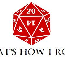 Hitting the d20s by MissMyrna