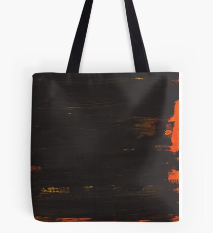 Hand painted brown with a tint of orange Tote Bag
