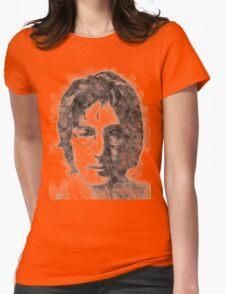 John Lennon portrait 01 Womens Fitted T-Shirt