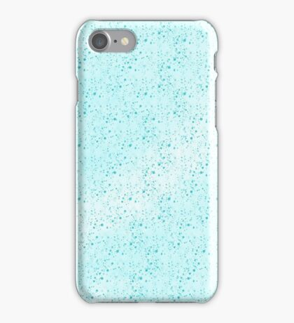 blue tinny dots iPhone Case/Skin