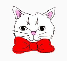 Cute Cat in a Red Bow Tie  Unisex T-Shirt
