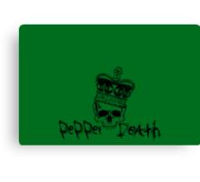 Pepper Death Crown Canvas Print