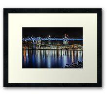 Millenium Bridge,London Framed Print