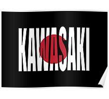 Kawasaki. Poster
