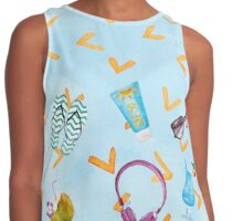 To The Beach Contrast Tank