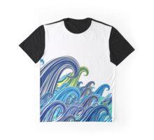 Vague Graphique Graphic T-Shirt