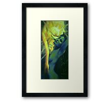 """Ilussion in The Mirror... from """"Impossible Love"""" series Framed Print"""