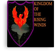 Kingdom of the Rising Winds Canvas Print