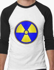 Radioactive Fallout Gamer Geek Men's Baseball ¾ T-Shirt