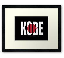 Kobe. Framed Print