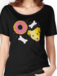 Dogs n doughnuts Women's Relaxed Fit T-Shirt