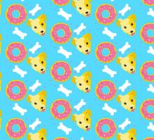 Dogs n doughnuts by jazzydevil