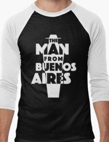 Logo: TMFBA contrast Men's Baseball ¾ T-Shirt