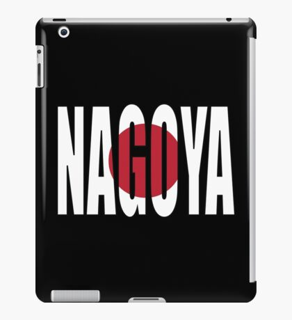 Nagoya. iPad Case/Skin