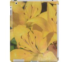 Yellow Lilies iPad Case/Skin