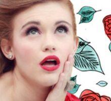 Holland Roden - Teen Wolf - Floral Sticker