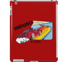 ATARI ENDURO RACING CARTRIDGE LABEL iPad Case/Skin