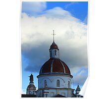 Cotacachi Church Dome Poster