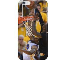 LeBron James Game 7 versus Curry iPhone Case/Skin