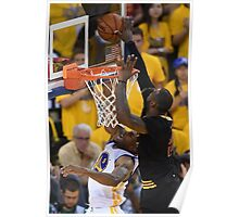 LeBron James Game 7 versus Curry Poster
