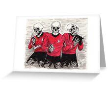 Three Red Shirteers Greeting Card