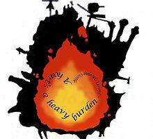 A heart's a heavy burden by Nesstle66