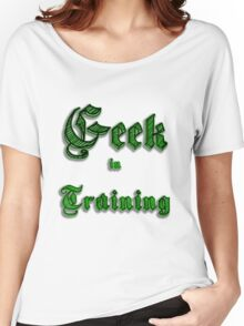Geek in Training Women's Relaxed Fit T-Shirt