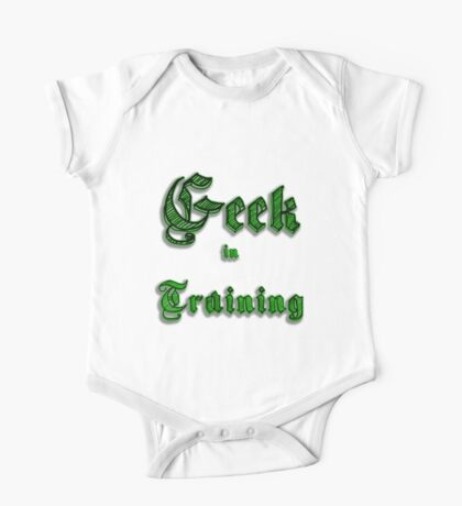 Geek in Training One Piece - Short Sleeve