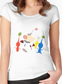 Captain Olimar Women's Fitted Scoop T-Shirt