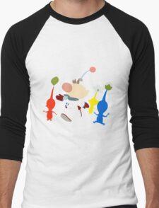 Captain Olimar Men's Baseball ¾ T-Shirt