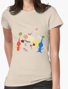 Captain Olimar Womens Fitted T-Shirt