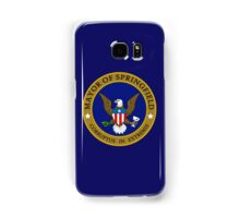 SIMPSONS MAYOR SPRINGFIELD Samsung Galaxy Case/Skin