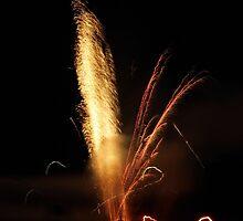 Blurred Fireworks by WildestArt