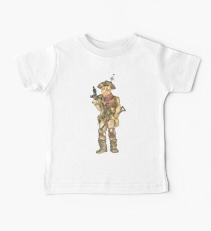 Space Pirate Baby Tee