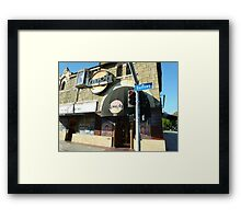 Laughing at the Sunset Strip Framed Print