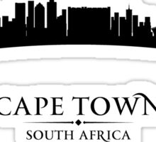 Cape Town South Africa Cityscape Sticker