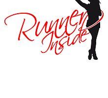 Runner Inside Girl by Style-O-Mat