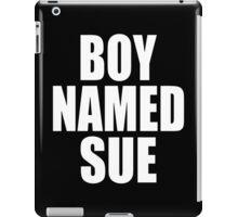Boy Named Sue iPad Case/Skin