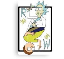 Rick & Morty King & Joker Canvas Print