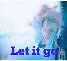 Rose tyler, Let it go Photographic Print