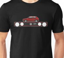 VW Golf GTI mark 1 red Unisex T-Shirt