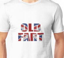 Old fart and Union Jack Unisex T-Shirt